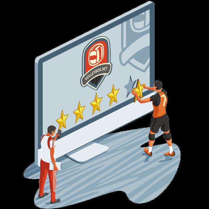 Men volleyball clubs reviews