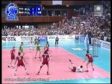 Libero (Piotr Gacek) scored the point