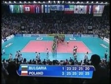Bulgaria - Poland (matchball)