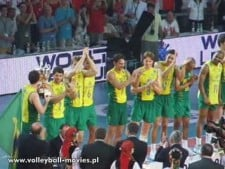 Brazil - the Winner of World League 2007