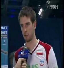 Łukasz Kadziewicz's interview (after Poland - Belgium)