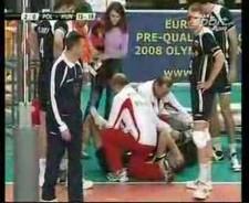 Mariusz Wlazły injury