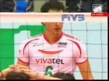 Matey Kaziyski in match Bulgaria - Puerto Rico
