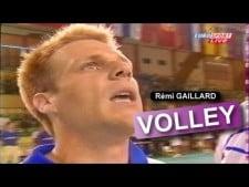 Remi Gaillard as a volleyball player