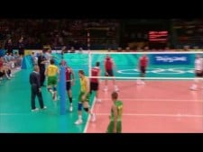 Murilo Endres 3rd meter spike