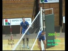 Net rule modifications (New rules in volleyball)