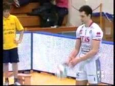 Matey Kaziyski vs Vibo Valentina (4 aces in the row)