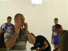 Serbian players in TV Commercial (Vip) 2 - Making off