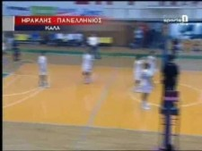 TOP10 moments of Greek League 2009/10 2nd round