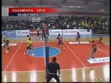 TOP10 moments of Greek League 2009/10 10th round