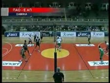 TOP10 moments of Greek League 2009/10 12th round