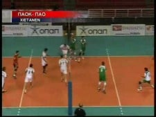 TOP10 moments of Greek League 2009/10 13th round