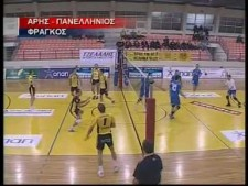 TOP10 moments of Greek League 2009/10 14th round