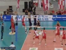 Zbigniew Bartman in match Poland - China