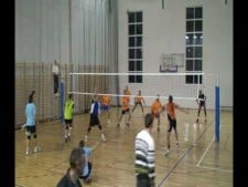We playing volley;)