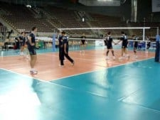 Trentino Volley training before Final Four 2009/10