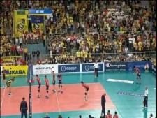 Skra Bełchatów - ACH Volley Bled  (SET3)
