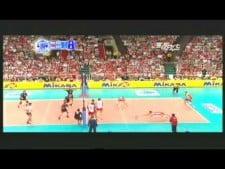 Georg Grozer in match Poland - Germany