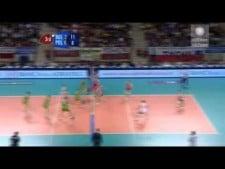 Matey Kaziyski in match Poland - Bulgaria