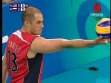 Clayton Stanley vs Russia (7 aces)