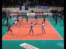 Alessandro Fei 40 points in match VB Tours - Sisley Treviso