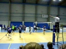 Me in action on the finals in Belgium (U16)