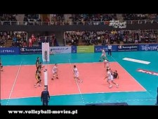 Trentino Volley - Skra Bełchatów (short cut)