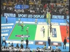 Long rally (Trentino Volley - Bre Banca Cuneo)