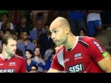 Sesi Sao Paulo in match Cruzeiro Volei - Sesi (Highlights)