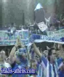 Iraklis Thessaloniki fans in Rome 2006