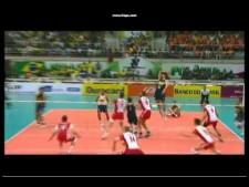 Bruno Rezende one-hand set (Brazil - Poland)