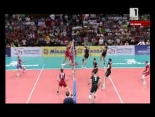 Teodor Todorov high-reach spike (Bulgaria - Russia)