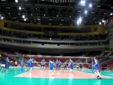 Italian training before World League 2011 Final Eight