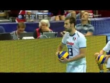 Ivan Zaytsev 5 points in a row