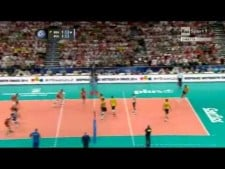 Bruno Rezende nice actions with middle-blockers
