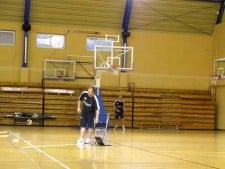 Bartosz Kurek and Jakub Jarosz Slam Dunk Contest