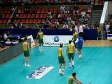 Football warm-up Brazil