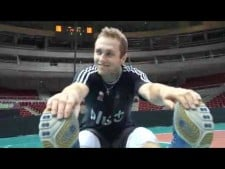 Polish training before World League 2011 Final Eight
