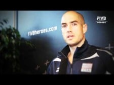 Clayton Stanley interview (World League 2011 Final Eight)