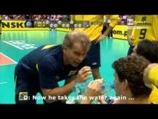 Bernardinho and the bottle of water