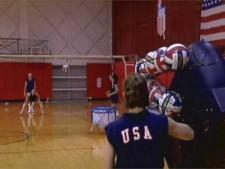 AirCAT Volleyball Training Machine