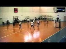 Alessio Cadeddu 5 great digs in one action