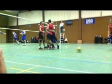 Obernai team playing volleyball