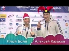 Lloy Ball and Alexey Kazakov sing New Year Songs