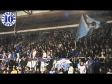Iraklis fans at the match Iraklis Thessaloniki - Arkas Spor Izmir