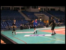 Skra Bełchatów playing football
