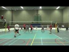 Prins actions in match Prins VCV Veenendaal - Abiant Lycurgus Groningen