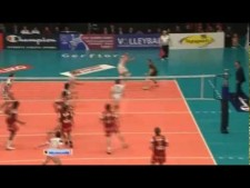 Matey Kaziyski in match Noliko Maaseik - Trentino Volley