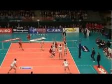 Noliko Maaseik - Trentino Volley (Highlights)
