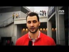 Matey Kaziyski interview (World League 2011 Final Eight)